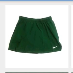 Nike Green Womes Skirt Dri Fit Med Girls Youth